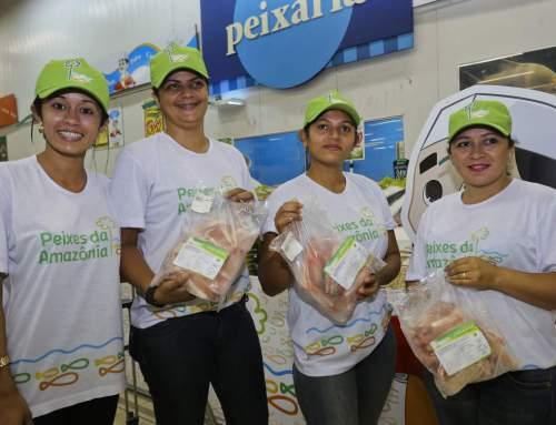 Peixes do Complexo de Piscicultura do Acre Chegam ao Consumidor