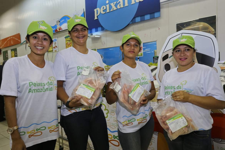 Primeiras vendas da Peixes da Amazônia